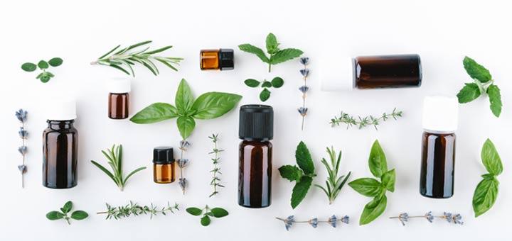 Essential oils made
