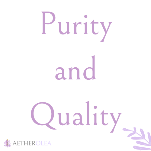 Purity and Quality